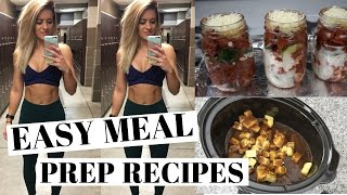 EASY MEAL PREP | Healthy and Quick