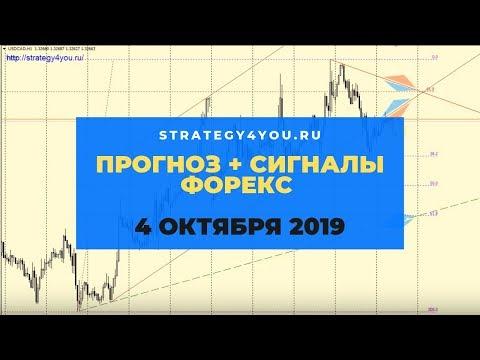 Прогноз EURUSD (+9 пар) на 4 ОКТЯБРЯ 2019 + сигналы, обзоры, аналитика форекс