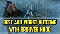 Brouver Hoog Best And Worst Outcome Mahakam - Thronebreaker the Witcher Tales - (Mount Carbon)