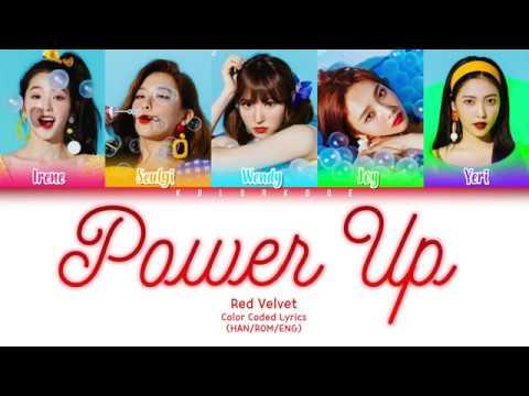 Red Velvet (레드벨벳) - Power Up (파워업) (Color Coded Lyrics) (HAN/ROM/ENG)