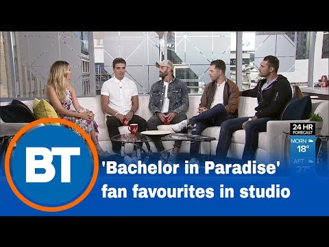 'Bachelor in Paradise' fan favourites live in studio!