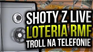 Loteria RMF - TROLLUJE waszych znajomych  Shoty z live #1