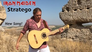 IRON MAIDEN - STRATEGO (Acoustic) - Guitar Cover by Thomas Zwijsen