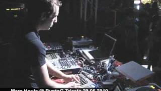 Marc Houle (M_nus) Live @ PuntoG Trieste 29.05.2010