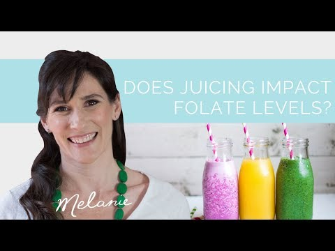 Folate Foods Does juicing impact folate levels? | Nourish with Melanie #6