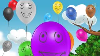 Вивчаємо кольори веселки | Розвиваючі уроки для дітей