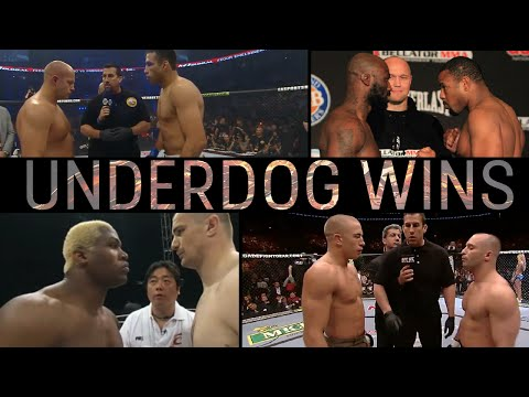 Thumbnail: Best Underdog Wins In MMA