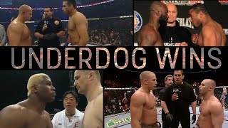 Best Underdog Wins In MMA