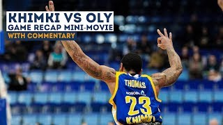 Khimki vs. Olympiacos Mini-Movie 18-01-2018 [khimkibasketTV]