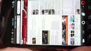Opera Mini Next on Android Samsung Galaxy Nexus