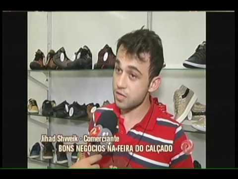 ea27e6027 Feira do calçado em Nova Serrana atrai milhares de visitantes - YouTube