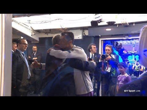 El reencuentro más especial entre Cristiano Ronaldo y su mentor Alex Ferguson