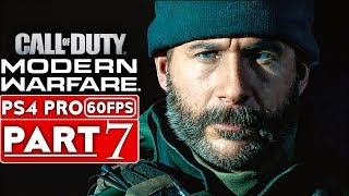 CALL OF DUTY MODERN WARFARE Gameplay Walkthrough Part 7 Campaign [1080p HD PS4] - No Commentary