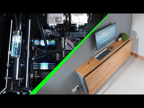 Building a spectacular DIY 'desk PC' (it can fold!)