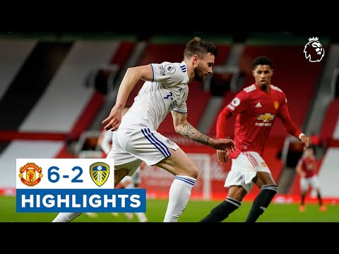 Manchester United 6-2 Leeds United   Premier League highlights