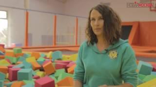 видео Польза прыжков на батуте для детского здоровья