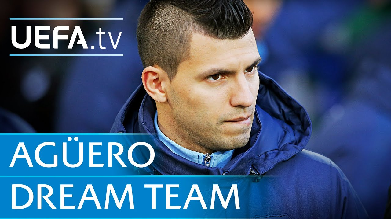 Sergio Aguero My Dream Five A Side Team