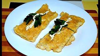 Этот завтрак заменит Горячий бутерброд. 5 минут и все готово.