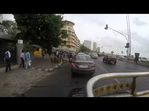Downtown South Mumbai Taxi Ride