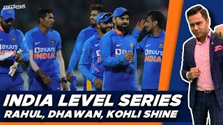 INDIA level the SERIES in RAJKOT   #AakashVani   #INDvsAUS 2nd ODI Review