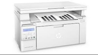 HP LaserJet Pro M130nw AIO Printer Unboxing - Review