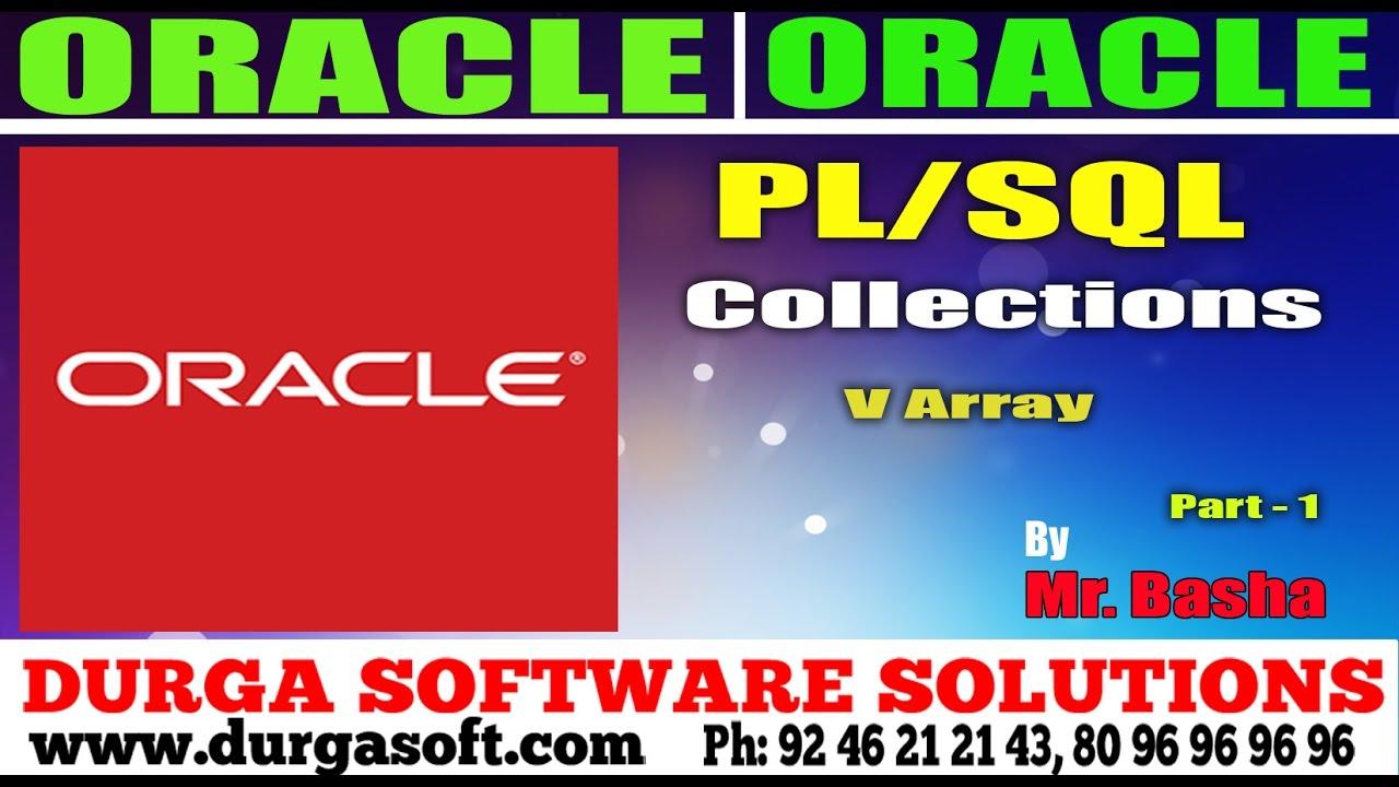 Oracle tutorialonlinetrainingplsqlcollectionsv array part oracle tutorialonlinetrainingplsqlcollectionsv array part 1 by basha baditri Choice Image