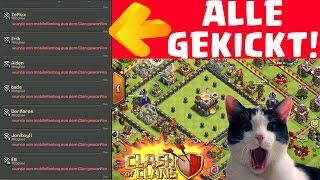 ALLE SPIELER GEKICKT! || CLASH OF CLANS || Let's Play COC [MrMobilefanboy Deutsch/German HD+]