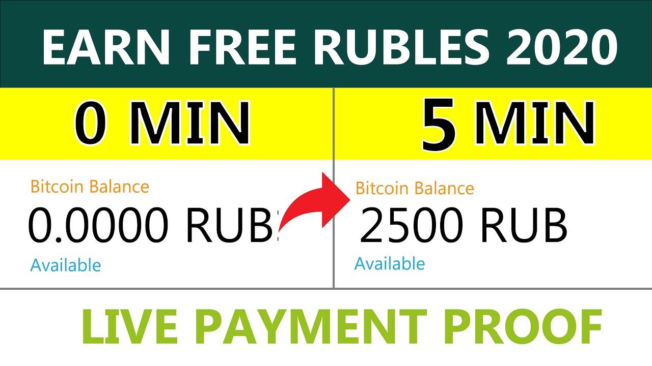3 Free Ruble Earning Sites 2020 - Earn Free Rub With Zero ...