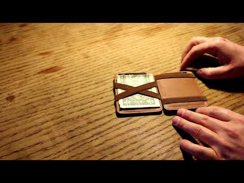 Review Hunterson Leather Magic Wallet