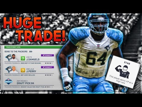 Huskies Make BIG Trade for Franchise Offensive Tackle | Madden 19 Franchise | EP 21