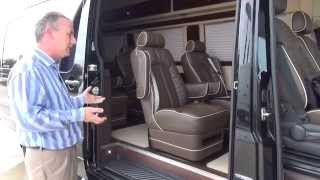Guy at Holmes Sprinter explains the custom Mercedes Benz Limo