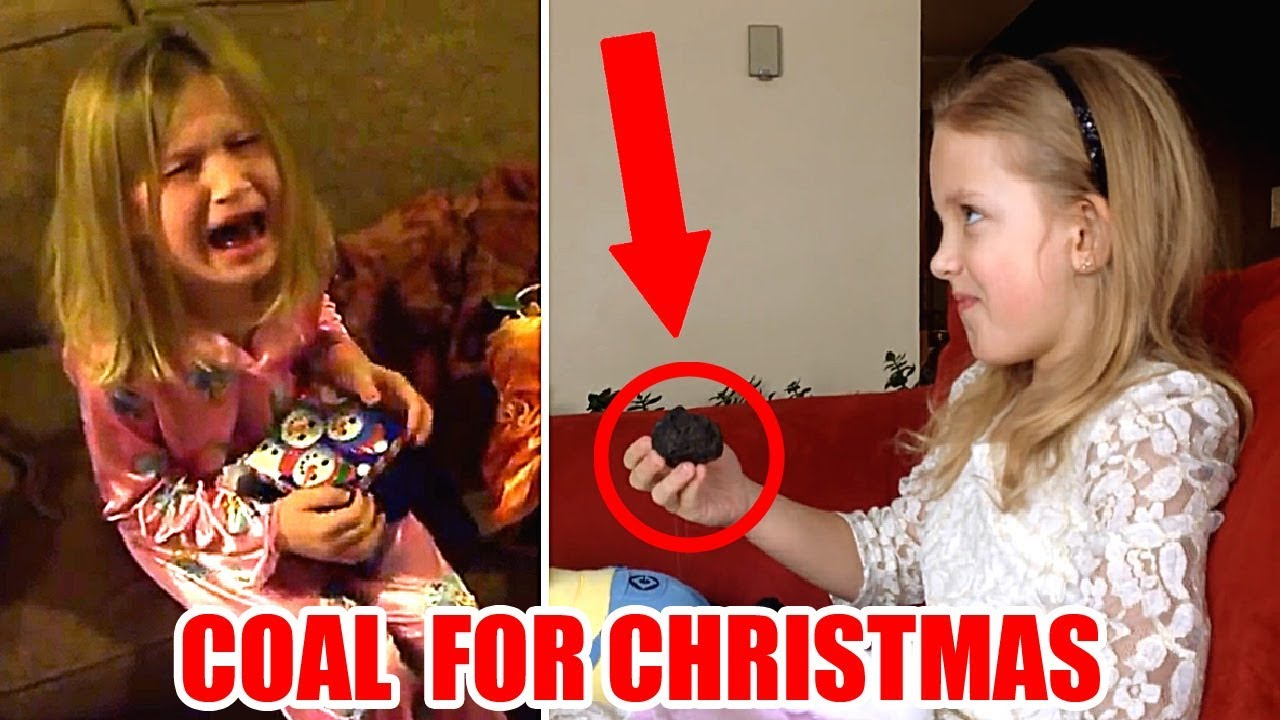 Kids Getting COAL For Christmas | Funny Compilation - YouTube