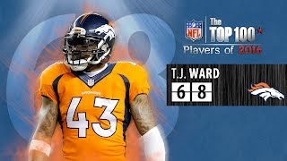 #68: T.J. Ward (S, Broncos) | Top 100 NFL Players of 2016
