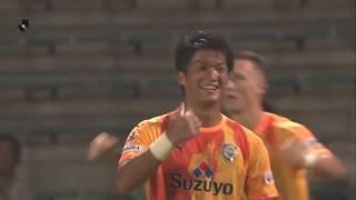 2018年7月18日(水)に行われた明治安田生命J1リーグ 第16節 清水vsC...