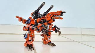 Zoids Revamped - Get Crazy With Geno Hades Super Zoids Armor System 😳