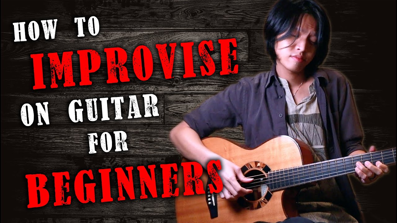 How to Improvise on Guitar for Beginners (Start Creating Music IMMEDIATELY!)