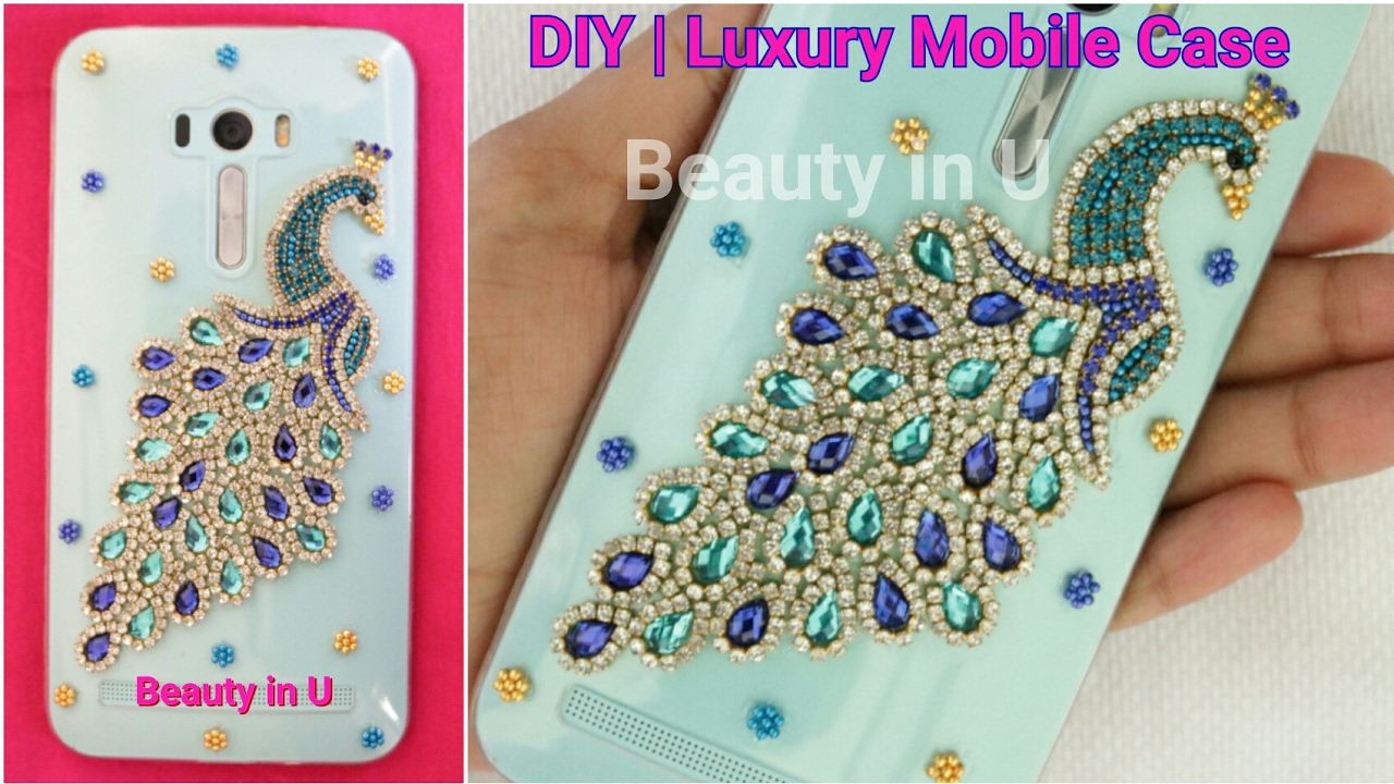 promo code fb504 ed157 DIY | Luxury Designer Handmade Mobile Phone Case (for iPhone or any Mobile)  making at Home|Tutorial