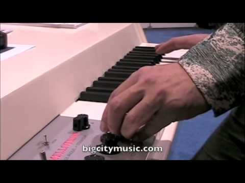 NAMM 2009 - Mellotron Mark VI at Big City Music booth