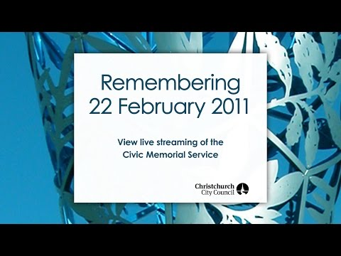 February 22nd Memorial Service