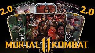 ОБЗОР ВСЕЙ ИНФОРМАЦИИ С KOMBAT KASTA! | ПЕРСОНАЖИ, МЕНЮ, ПАССИВКИ , ВСЁ!! | Mortal Kombat mobile