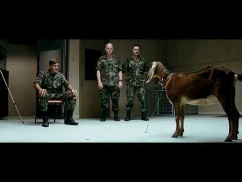 The Men Who Stare At Goats Official HD Trailer - Release Date November 6, 2009