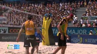 Alison/Bruno Schmidt vs Ranghieri/Carambula (Semifinals) GSTAAD MAJOR 2015