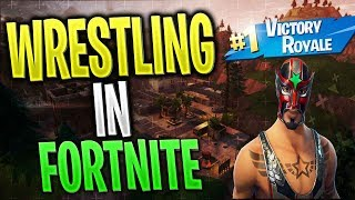 REY MISTERIO IN FORTNITE ?! - WRESTLING-UL ISI FACE APARITIA IN FORTNITE SAU nu.. wat