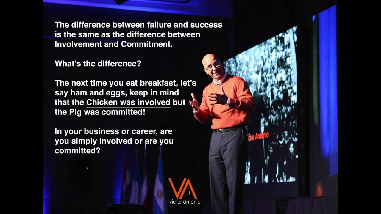 Commitment Vs Involvement