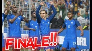 France vs Angleterre Finale Coupe du Monde 2018 Russie #07 PES 2018