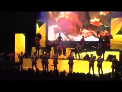 Banda El Recodo en el Festival Internacional Cervantino 40 edición Parte 1