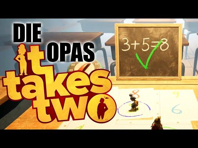 Opas in der Schule 👴🏻 It Takes Two #07 [Lets Play | Deutsch]