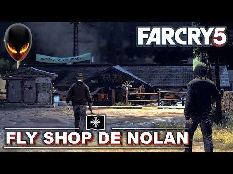 FAR CRY 5 Fly Shop de Nolan - Avant-Poste Discrétion