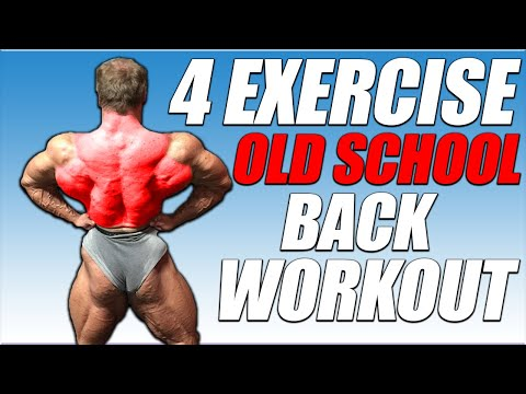 The Perfect Old School Back Workout
