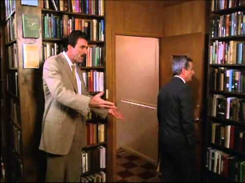 Her Alibi 1989 Tom Selleck Chat At The Library Youtube